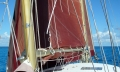 Under genoa and mainsail with one reef